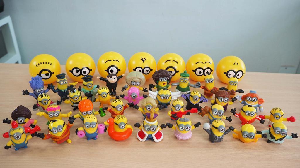 麥當勞開心樂園餐新推Minions迷你兵團玩具 35款百變造型+隱藏版Minions率先睇