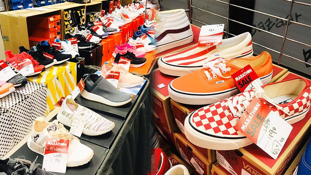 【開倉優惠】尖沙咀波鞋開倉2折!Adidas/Nike/Vans/Converse/運動服飾$70起