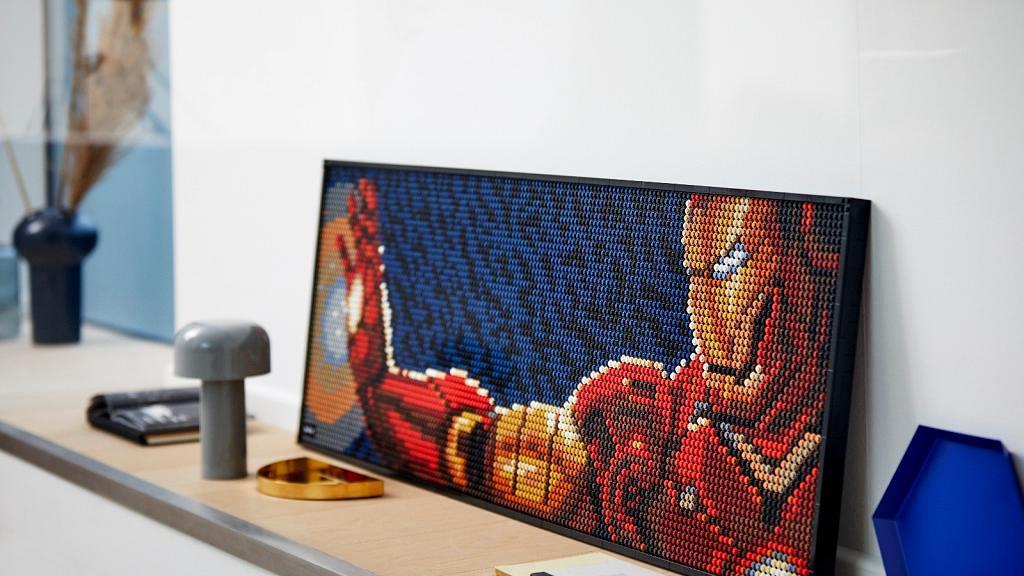 Lego全新LEGO Art系列砌肖像海報!Iron Man/The BEATLES/Star Wars