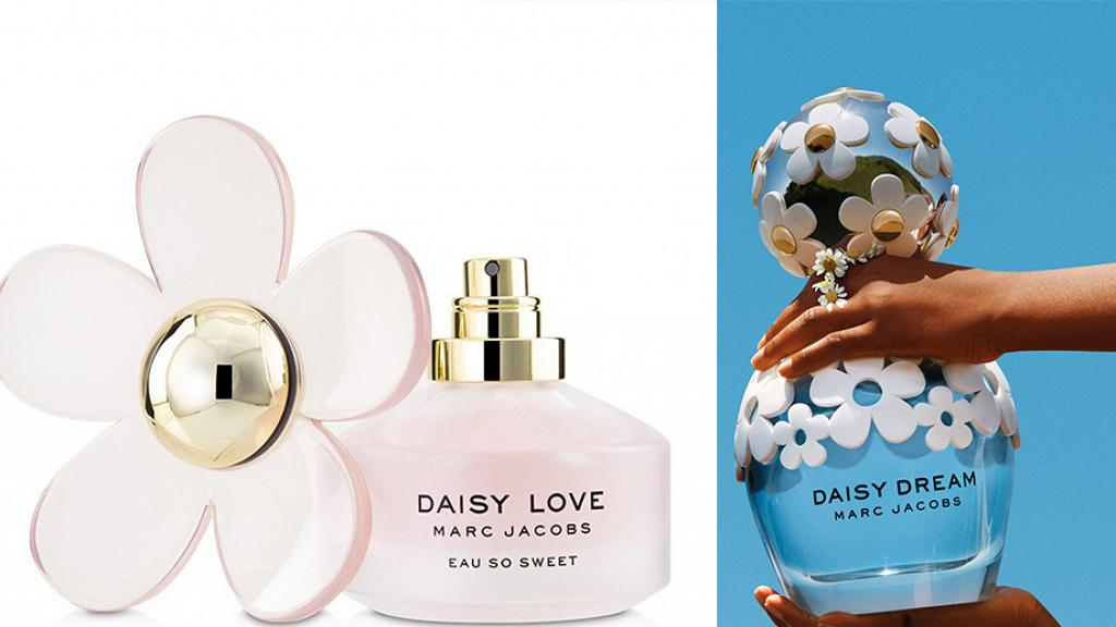 MARC JACOBS香水網購優惠低至6折 精選5款Daisy小雛菊系列香水 淡粉色花花樽身