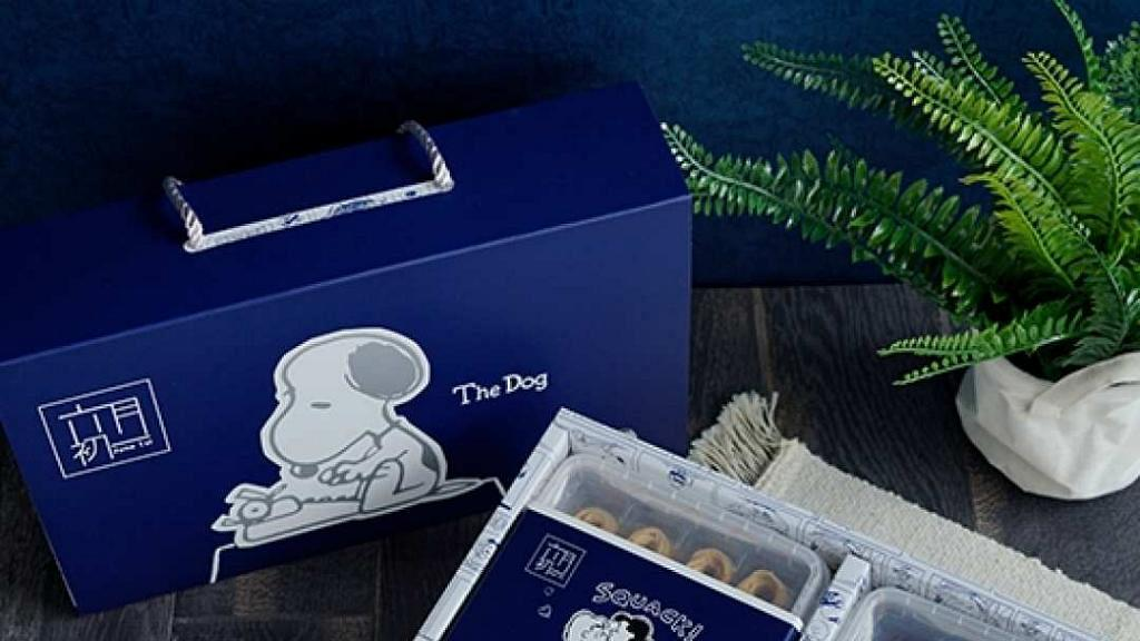 六月初一8結蛋捲推史努比70周年限量禮盒!台灣人氣手信扭結蛋卷 免運費送上門