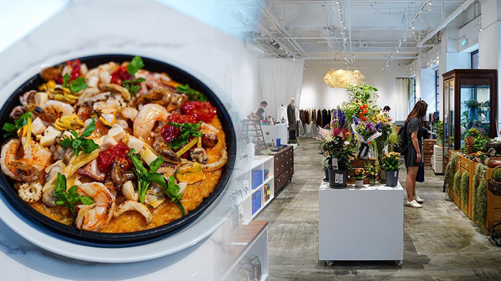 【上環好去處】上環新開簡約北歐生活雜貨店!集餐廳/花店/時尚服裝飾物/家品/超市於一身