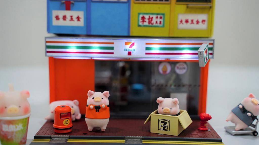LuLu豬迷你7-Eleven便利店模型登場 像真思樂冰機/收銀檯/雪糕櫃