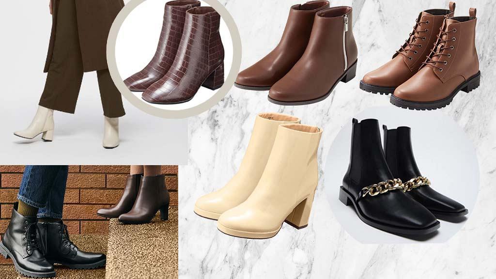 【秋冬短靴】精選15款$400以下百搭易襯短靴!GU/Uniqlo/Zara 3大品牌秋冬新品推介