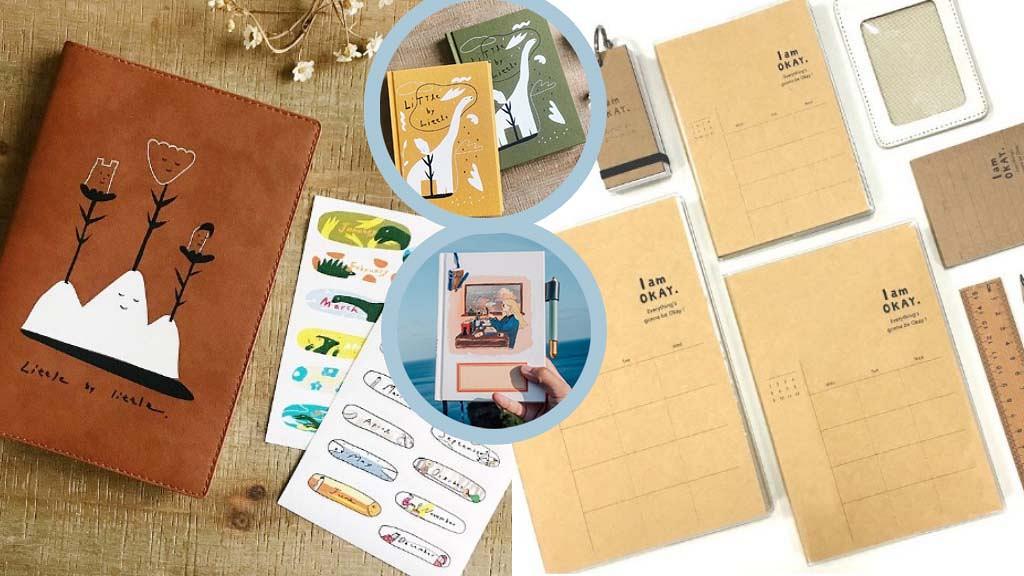【手帳2021】精選Pinkoi最新10大2021年手帳schedule book!日系簡約/皮革/可愛插畫風格