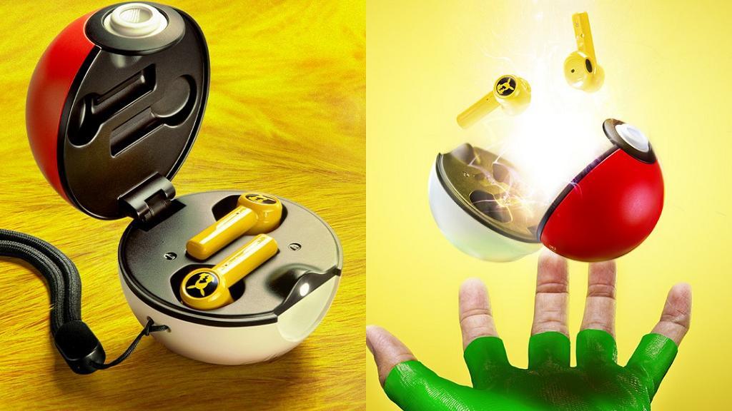 Razer全新比卡超限定版無線藍牙耳機+精靈球充電盒登場!超萌提示聲/比卡超造型滑鼠/背光鍵盤