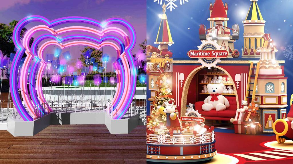 【聖誕好去處2020】聖誕馬戲飄雪樂園登陸青衣城!過100隻毛毛熊打卡牆/飄雪匯演/光影燈海