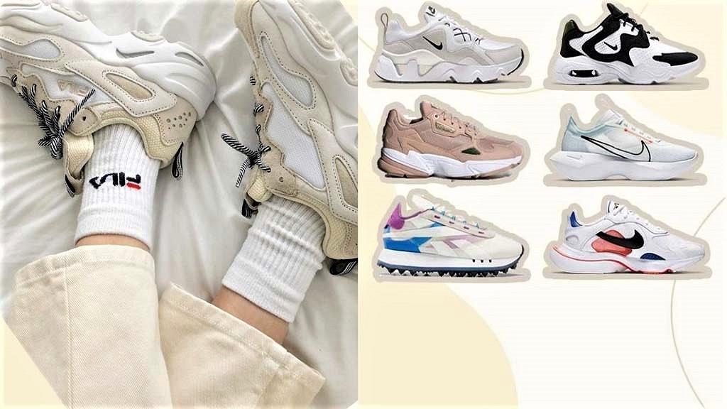 10款女生必備超顯腿長 增高3cm厚底波鞋推介!Nike/FILA/Reebok/Adidas