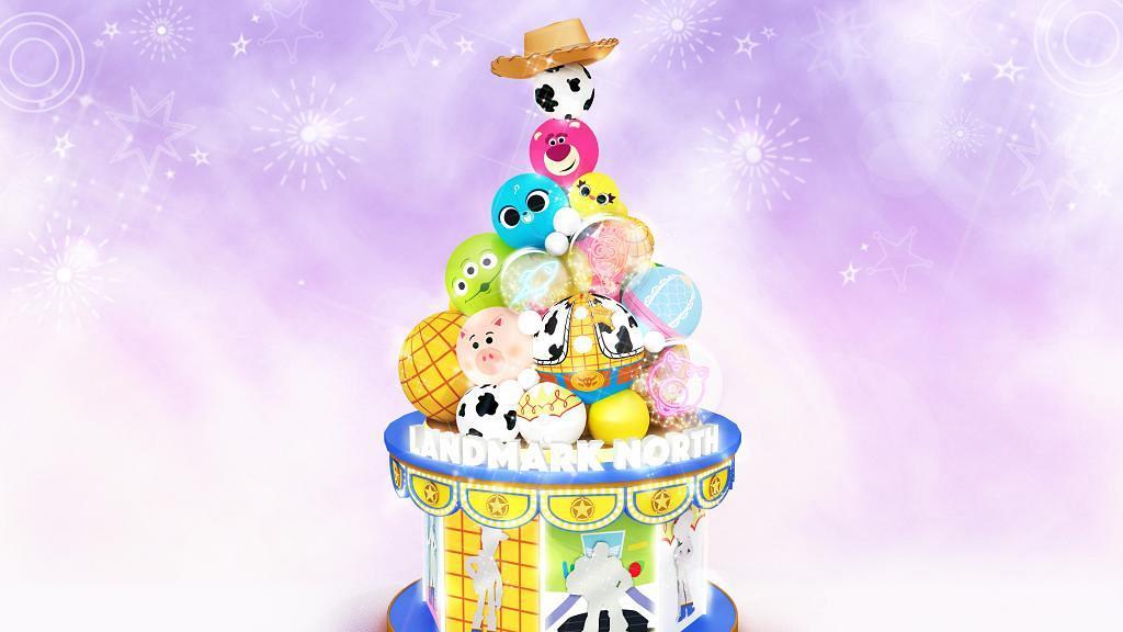 【聖誕好去處2020】Pixar卡通聖誕登陸上水/將軍澳 反斗奇兵聖誕樹/三眼仔扭蛋機