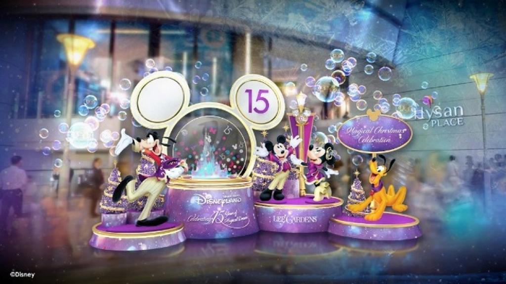 【聖誕好去處2020】迪士尼15周年聖誕慶典登陸銅鑼灣利園區!唐老鴨/米奇飄雪水晶球/期間限定店