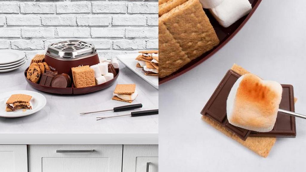 Amazon網購朱古力棉花糖夾心餅DIY烘烤機!在家自製s'more/燒棉花糖/烤曲奇甜品下午茶