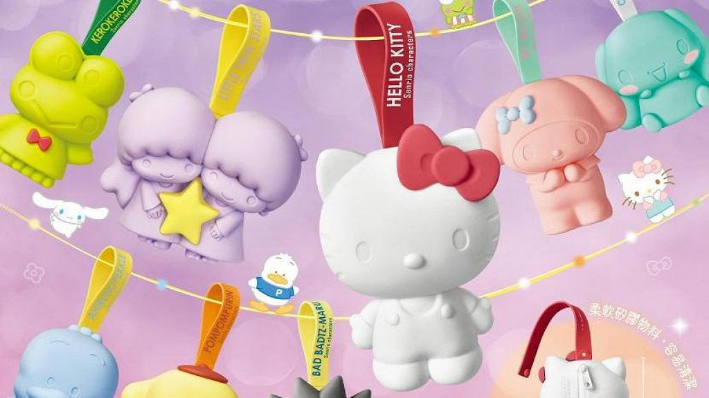 7-Eleven便利店Sanrio隨身Mini Pouch印花換購 Hello Kitty/Melody/布甸狗/玉桂狗