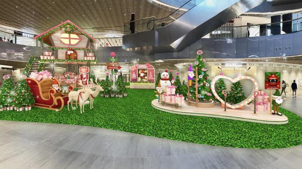 【聖誕好去處2020】大型森林系聖誕裝置登陸東薈城名店倉!6米高聖誕樹屋/郵寄聖誕木卡