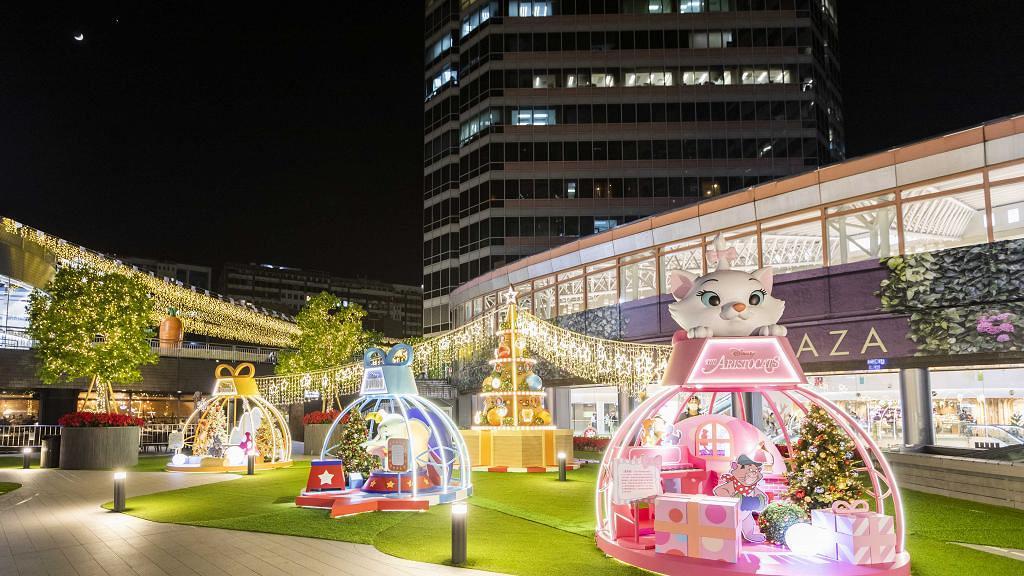 【聖誕好去處2020】迪士尼4大經典童話登陸葵芳新都會!獅子王/小飛象/小鹿斑比/逾萬朵聖誕花海