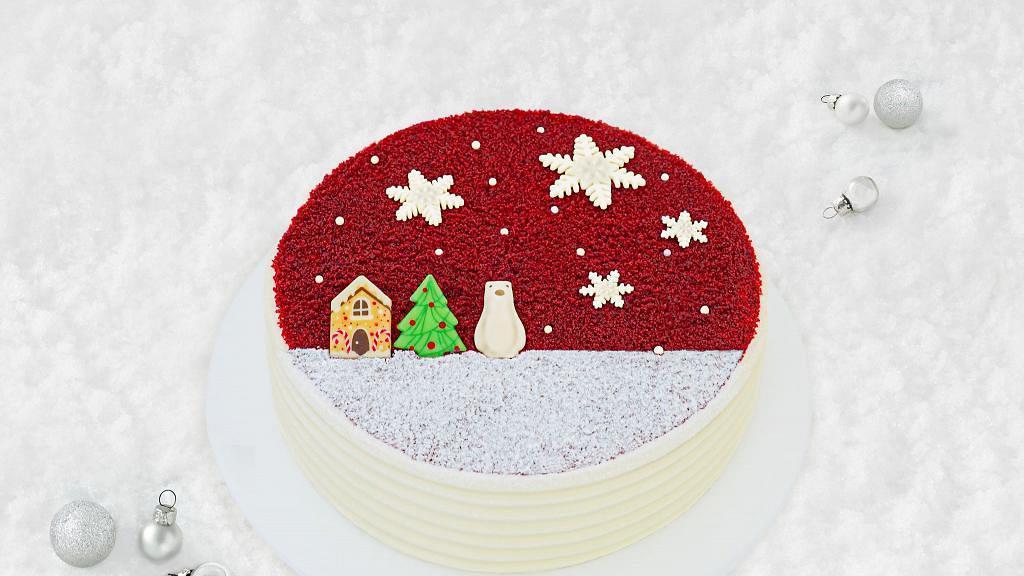 Lady M 聖誕限定紅絲絨蛋糕回歸!冬日小屋/迷你聖誕樹/可愛北極熊造型圖案