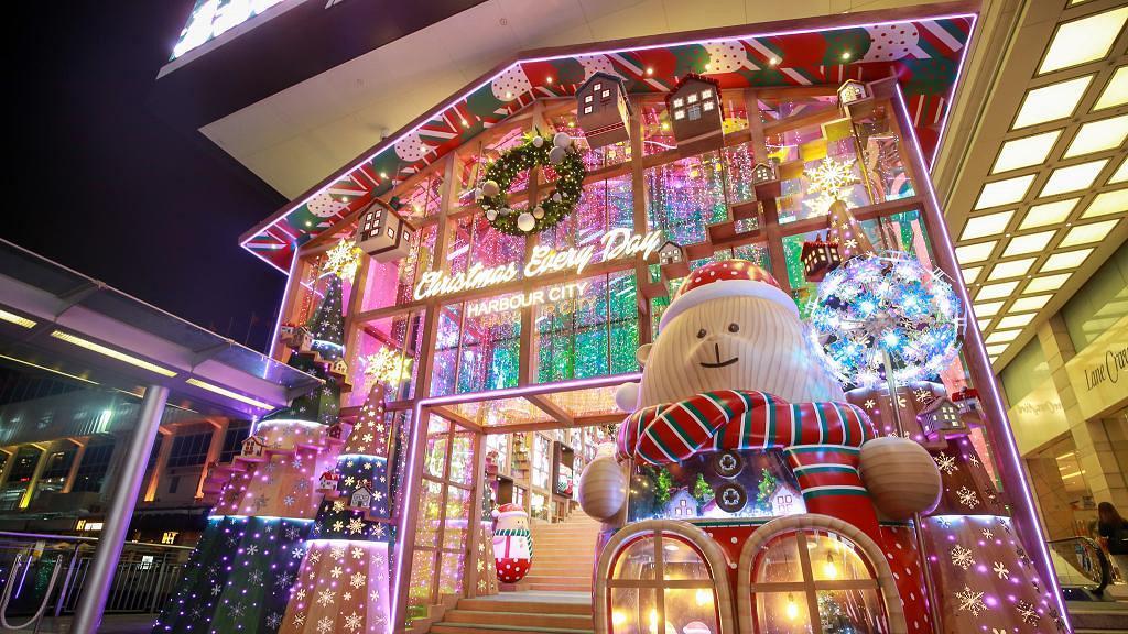 【聖誕好去處2020】尖沙咀海港城4大聖誕裝置登場!巨型聖誕熊仔玩具店/燈海花園/營火會