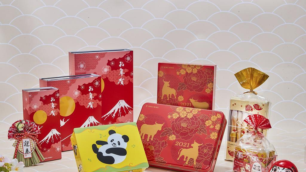 日本品牌YOKU MOKU新推出3款賀年禮盒!牛年限定全新熊貓雪茄蛋卷/宇治抹茶曲奇香港開售