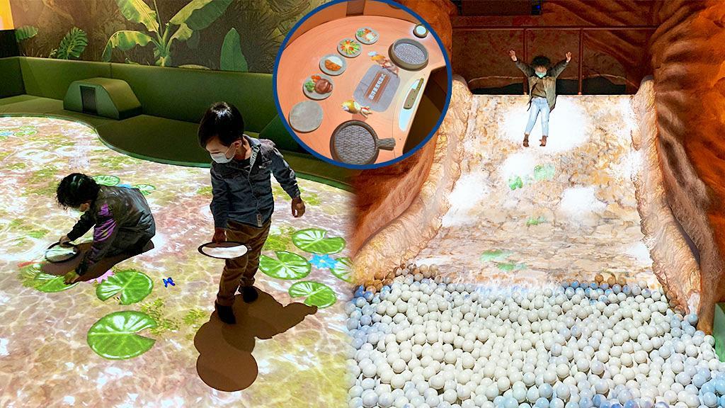 【將軍澳好去處】日本室內樂園DOCODOCO登陸香港!率先看冒險之島瀑布/投影廚房/迷你沙灘