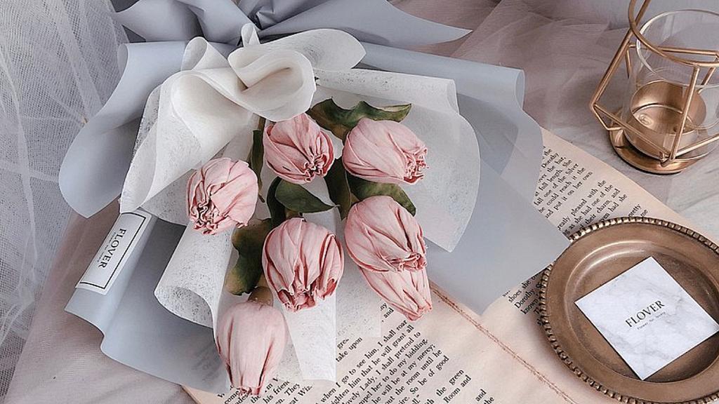 【情人節花2021】情人節花束8大花店推介 乾花花束/浪漫花語/情人節優惠