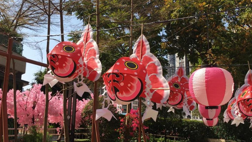 【新年好去處2021】日本青森夢幻琉璃風鈴小路登陸YOHO MALL!魚の夜燈祭/夜櫻步道/蘋果特產店