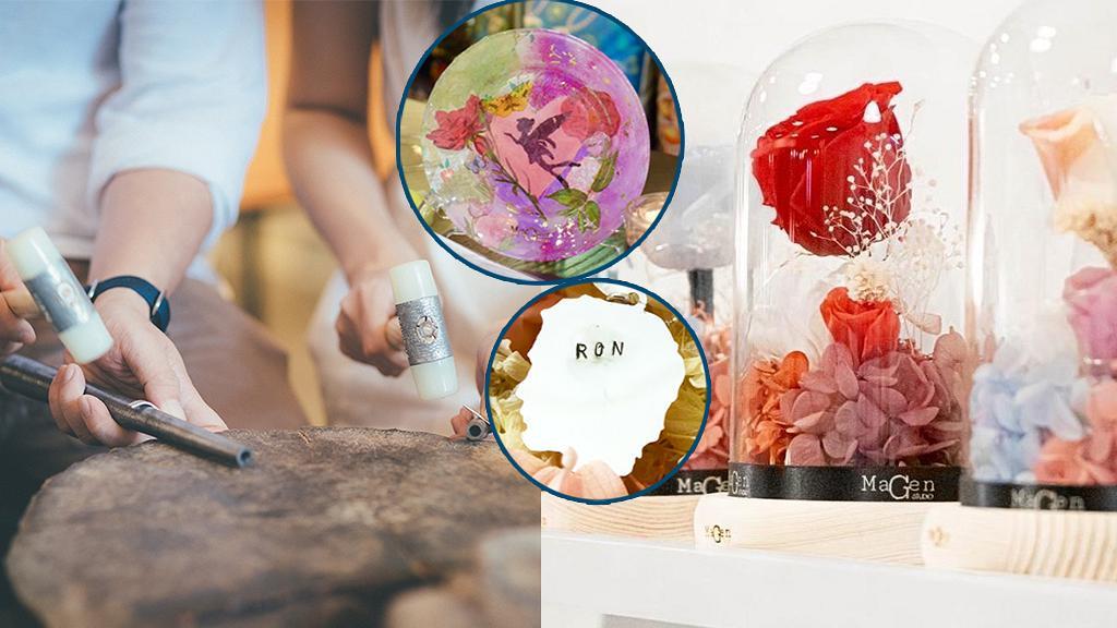 【情人節好去處2021】全港10大最新2月情侶限定工作坊!情人剪影頸鏈/銀戒指/永生玫瑰花瓶