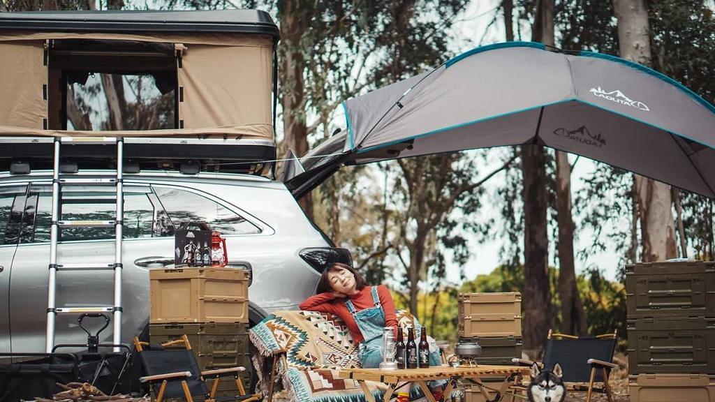 【露營好去處】香港四驅越野車/Benz車頂露營體驗!限時優惠包露營車+車頂營/天幕人均$712起