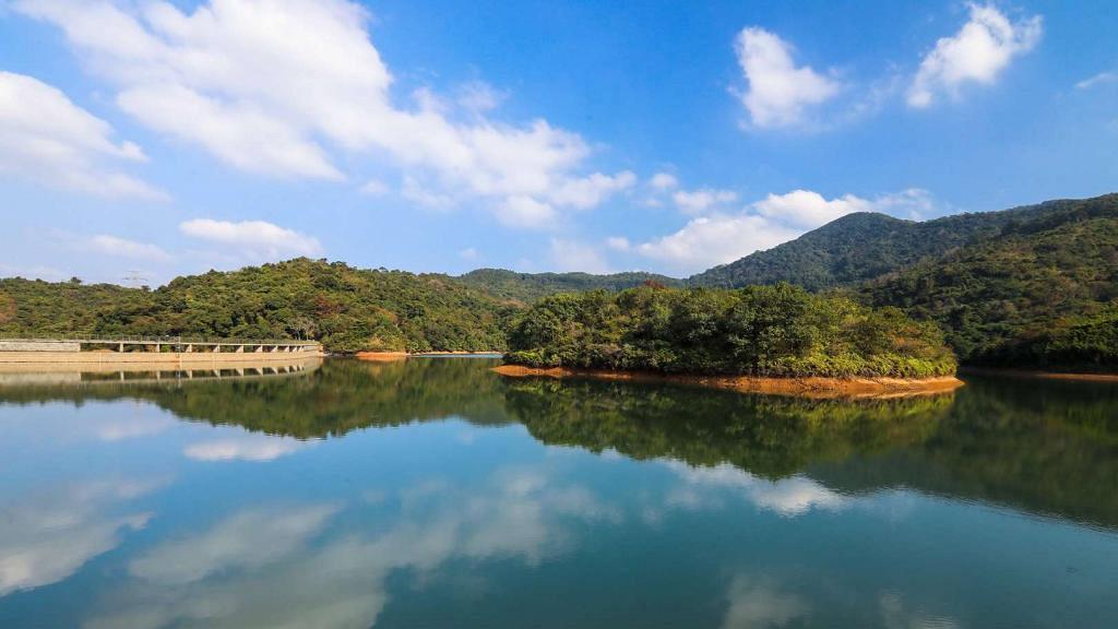 【郊遊好去處】元朗河背水塘簡易行山路線  全程只需1小時輕鬆睇水塘美景