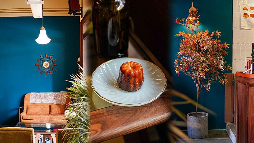 【深水埗美食】深水埗新開日式復古Cafe 多個影相打卡位!櫻花豆腐芝士蛋糕/虎蝦蕃茄蘑菇意粉