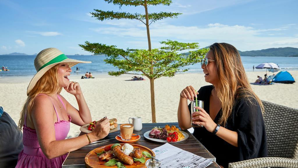 【大嶼山美食】大嶼山泳灘海景餐廳Bathers 吹海風睇日落歎勻和牛漢堡/海鮮/雞尾酒
