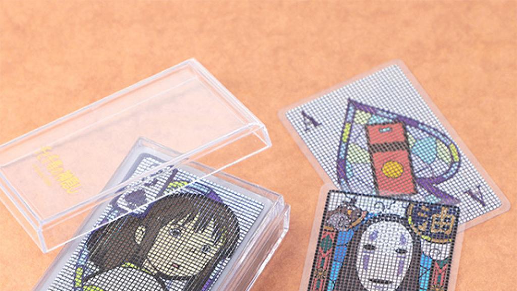 宮崎駿千與千尋「透明啤牌」日本直送香港!雙面透視角色花紋 還原無臉男/白龍/湯婆婆經典場景