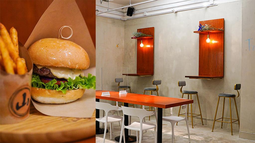 【觀塘美食】觀塘新開手工和牛漢堡店 限定芫荽漢堡!足料肉厚牛味濃+自家特製醬汁/麻辣薯條