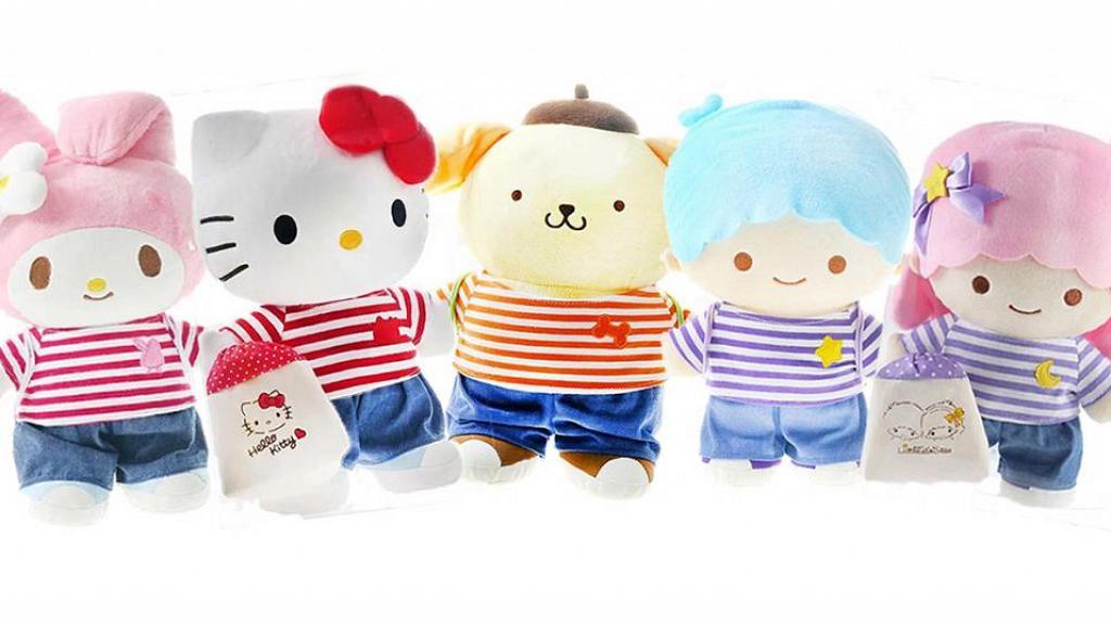 【網購優惠】Sanrio香港官網獨家限定半價優惠 快閃一日!5款索繩背囊牛仔褲造型公仔$140