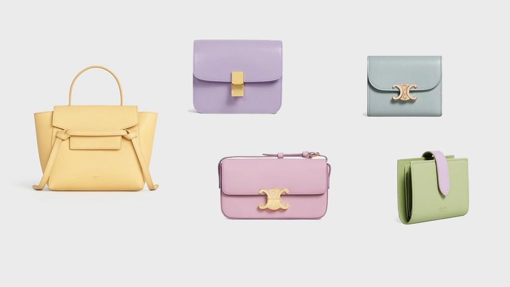 【名牌手袋/銀包】CELINE春夏季糖果色新品登場 牛油果色銀包/奶黃色手袋