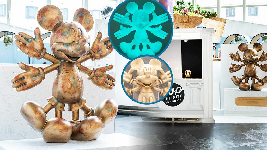 【旺角好去處】全新kkplus米奇雪天使展覽登陸朗豪坊!免費入場/1.2米高米奇雕像/限量商品