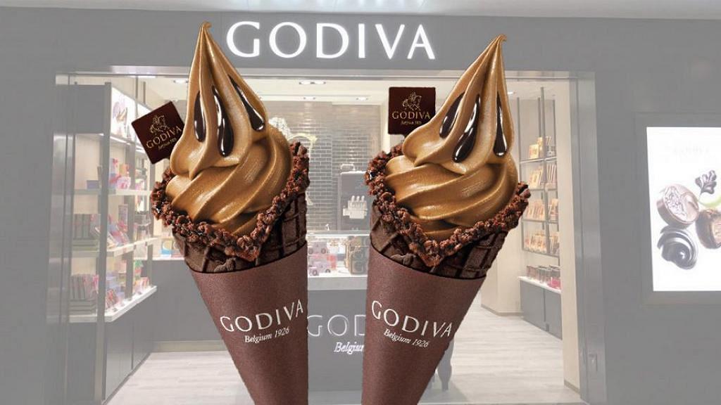 【雪糕優惠】GODIVA專門店一連4日快閃優惠 黑巧克力味軟雪糕買一送一!