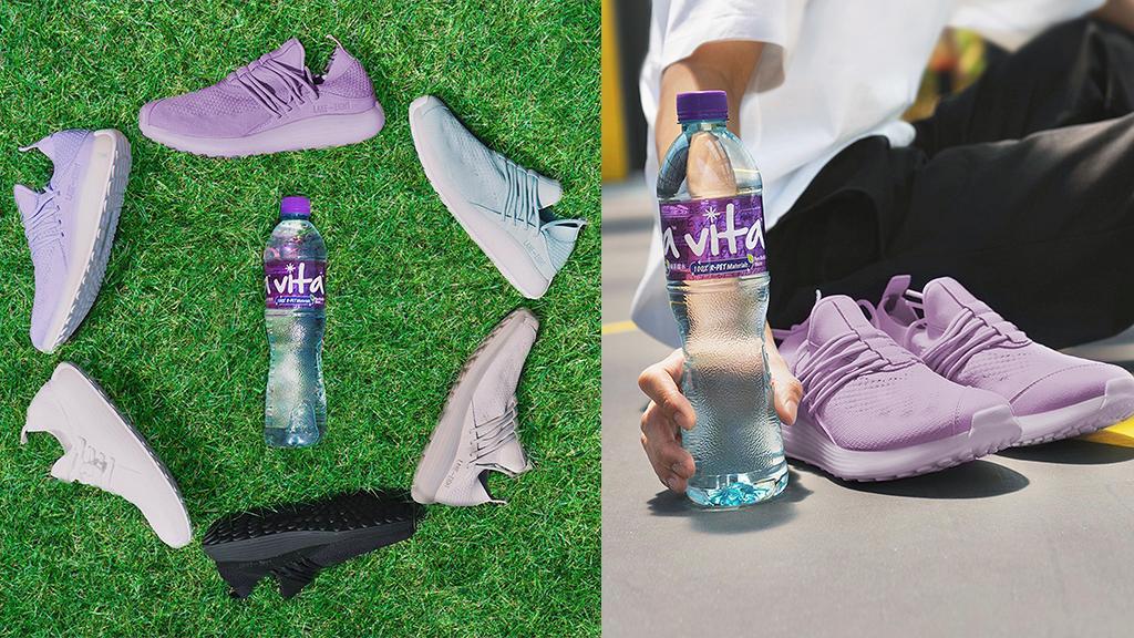 維他蒸餾水聯乘LANE - EIGHT首推「Recycle2」激賞 買2支維他蒸餾水嬴取限量環保運動鞋+索袋