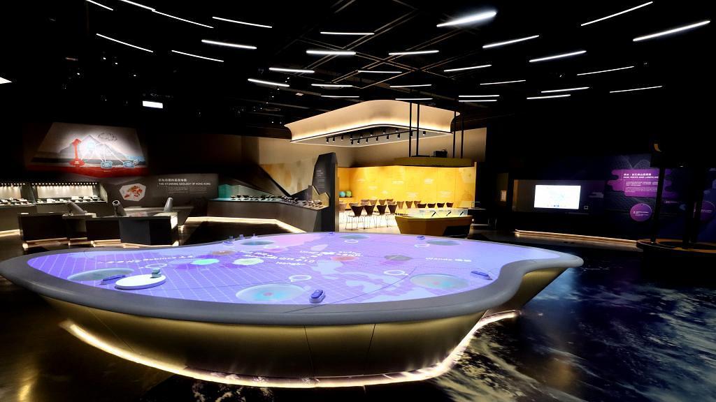 科學館新地球科學廳 感受 10 號風球威力