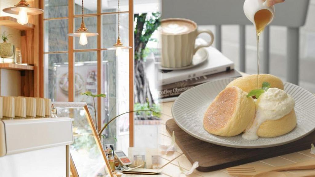 【屯門美食】屯門新開木系簡約cafe 新張咖啡買一送一優惠!歎日式梳乎厘Pancake/提拉米蘇咖啡