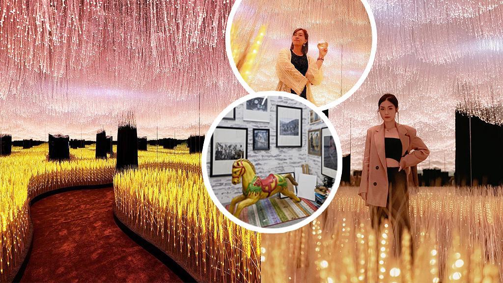【尖沙咀好去處】無限鏡面光影麥田登陸K11 Musea!3大影相位/粉色流星雨燈海/普普藝術教父合作
