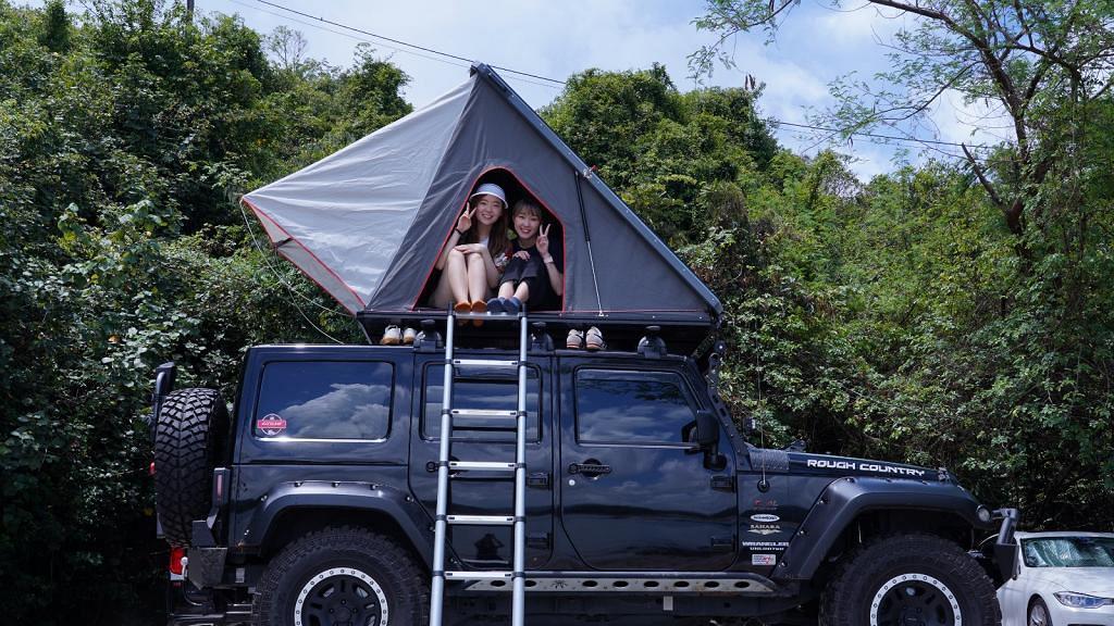 【露營好去處】專人接送JEEP車頂露營體驗 露營新手要試!一站式包露營用品、廚具
