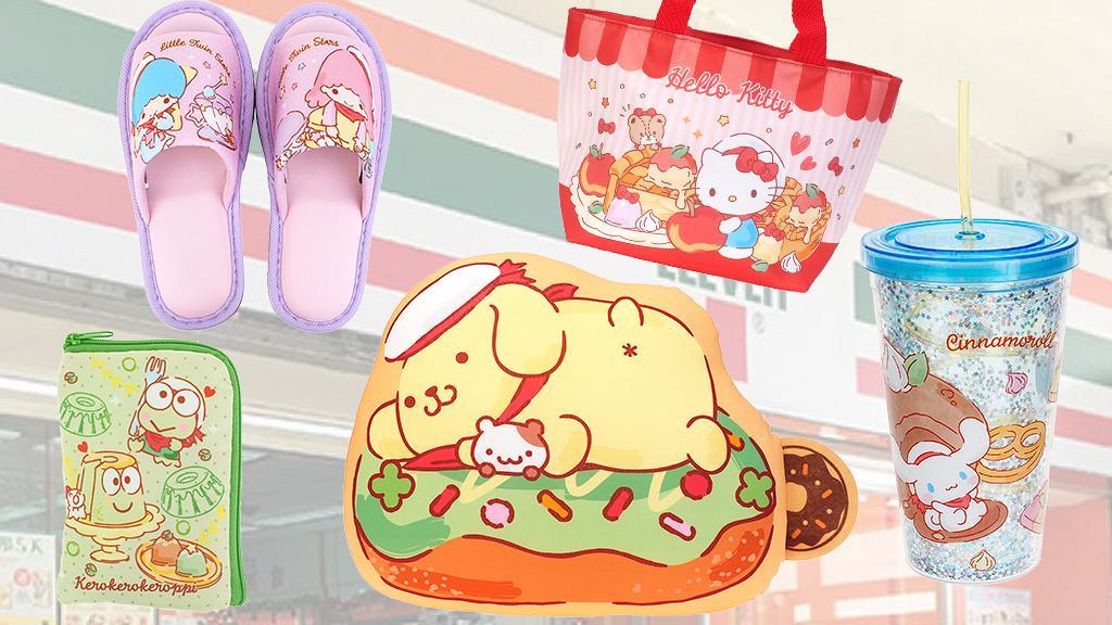 【便利店新品】7-Eleven聯乘Sanrio推出10款獨家夏日精品!冷感巾/拖鞋/餐盒/保溫袋/縮骨遮