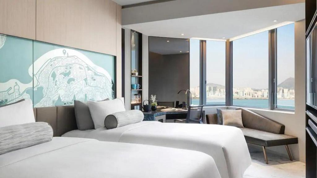 【酒店優惠2021】香港維港凱悅尚萃酒店Staycation優惠!免費升級海景房包2餐自助餐人均$535起