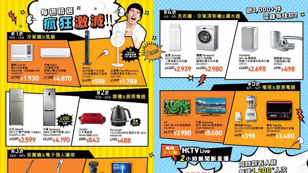 【網購優惠】HKTVmall電器節減價優惠 AirPods Pro/Dyson限量半價