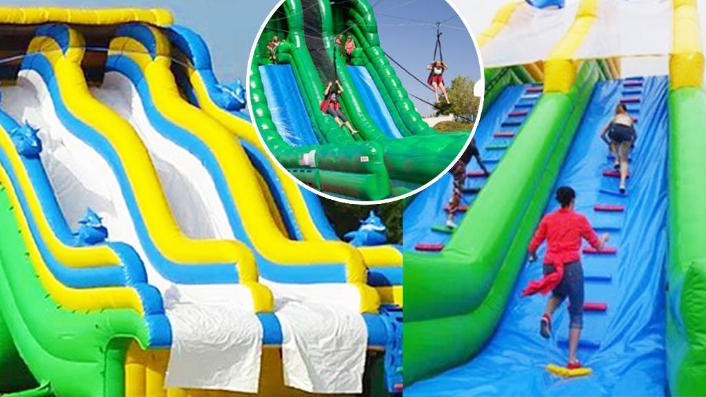【暑假好去處】元朗大棠有機生態園區最新水上樂園7月開幕!100米長滑水梯/泰山飛索/障礙賽