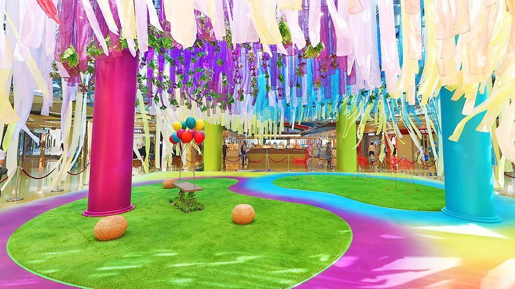 【暑假好去處】大型夢幻彩帶世界登陸太古城!4大影相位/音樂互動裝置/乾花蠟燭工作坊