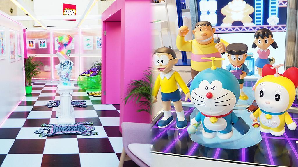 【旺角好去處】朗豪坊KKPLUS奇奇拔玩具城展覽開幕!5大影相區/新開大型玩具店/BE@BRICK珍藏牆