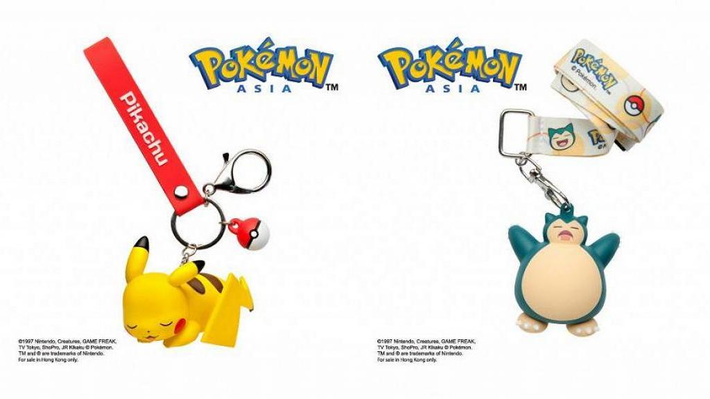 全新3D Pokémon寵物小精靈八達通配飾 甜睡造型比卡超/伊貝/卡比獸