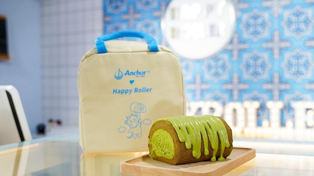 【觀塘美食】人氣爆餡卷蛋Happy Roller觀塘開店 達12款口味!期間限定日本玄米茶奶蓋卷蛋