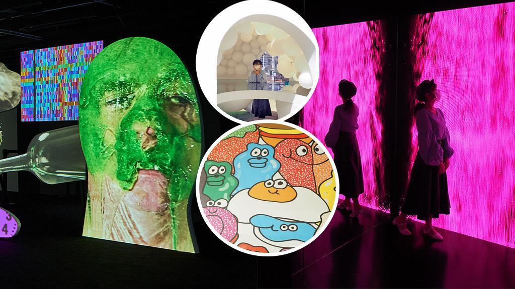 【尖沙咀好去處】K11 MUSEA全新大型藝術聯展!6大展區/搞怪光影打卡位/巨型夢境太空船