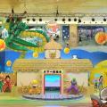 東港城4D龍珠體感遊戲區 練成「龜波氣功」